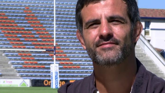 Mathieu Blin, l'homme fort d'Agen : Retro - Rugby - Anniversaire