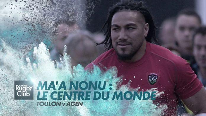 Ma'a Nonu : Le Centre Du Monde : Canal Rugby Club - Retro - Rugby - Joyeux anniversaire