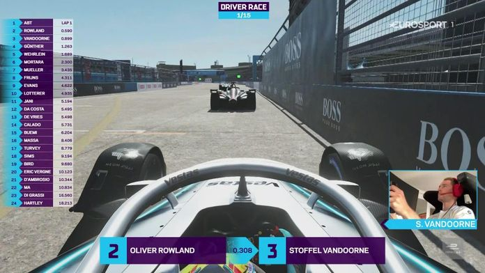 FORMULE E : RACE AT HOME SERIES