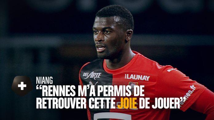 """Niang : """"Rennes m'a permis retrouver cette joie de jouer"""" : Canal Football Club"""