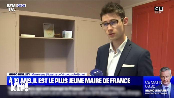 A 19 ans, il devient Maire !