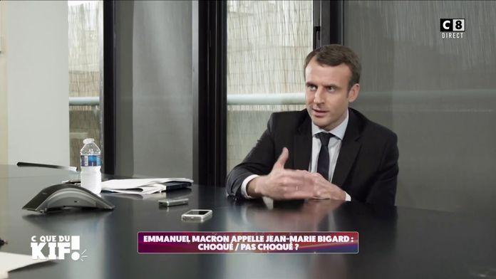 Emmanuel Macron appelle Jean-Marie Bigard pour parler de la réouverture des bars