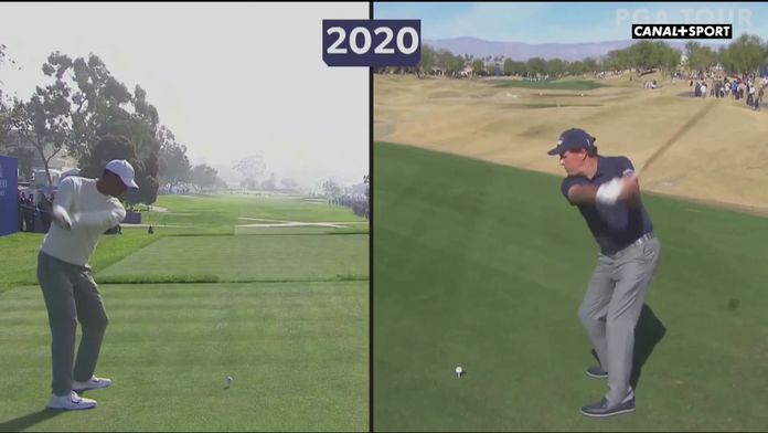 Woods / Mickelson : face à face des swings : Golf+ le mag