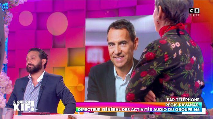 Isabelle Morini-Bosc face à Régis Ravanas, le président de RTL