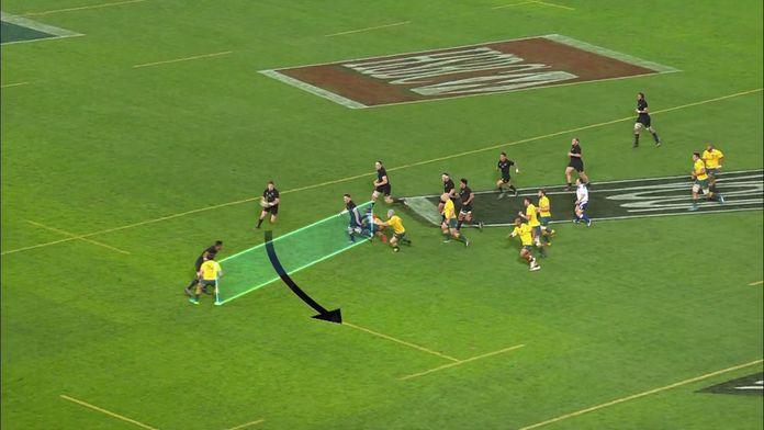 Le jeu du All Black Beauden Barrett décortiqué en palette : Retro - Rugby - Joyeux anniversaire
