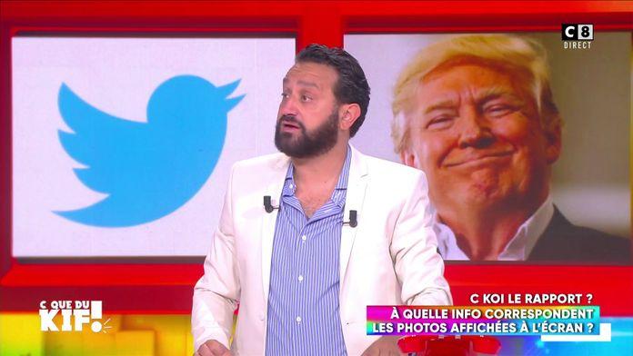 Twitter signale un tweet de Donald Trump