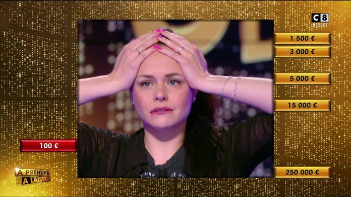Une boîte rouge contre 5 boîtes dorées : Sarah partira-t-elle avec les 250 000 euros ?