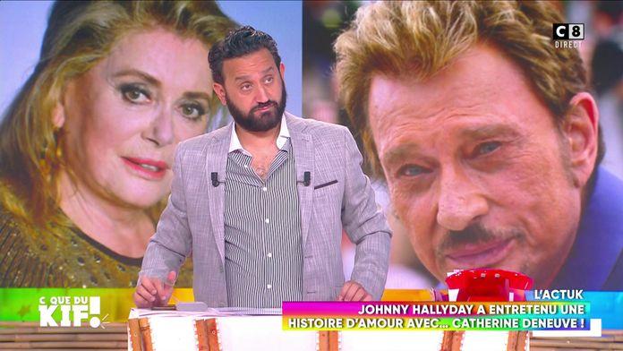 Johnny Hallyday a entretenu une liaison cachée avec Catherine Deneuve !