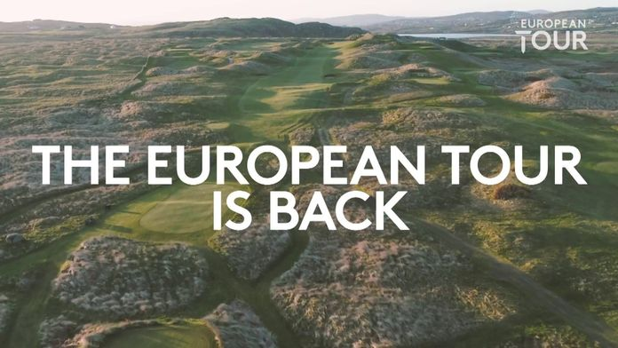 Reprise du circuit le 22 juillet : European Tour