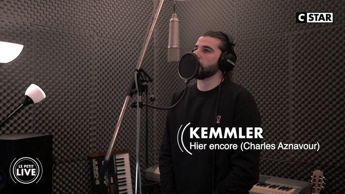 """Kemmler interprète en live pour CSTAR """"Hier Encore"""" de Charles Aznavour"""