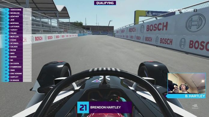 """Formule E """" Race at Home Challenge"""""""