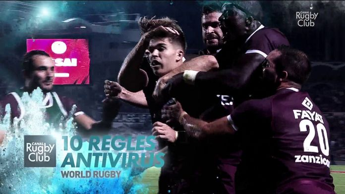 World Rugby - 10 règles Antivirus : Canal Rugby Club