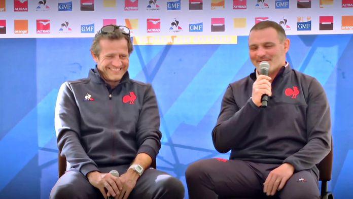 Bande de Confs - Spécial Fabien Galthié et Raphaël Ibanez : Canal Rugby Club