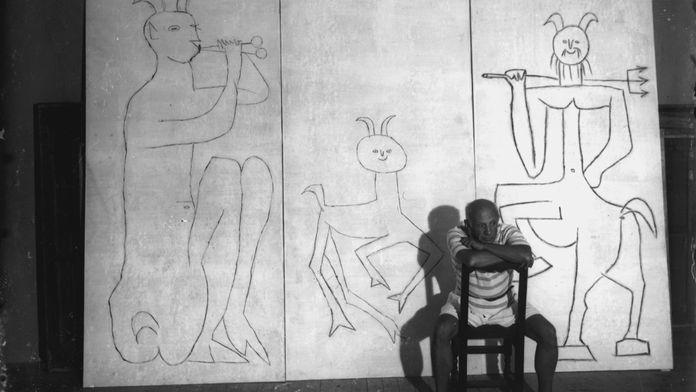 Picasso et Sima, le modeleur d'amitié