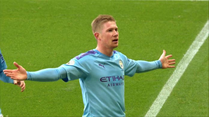 Le top buts de Manchester City - 2019/2020 : Premier League