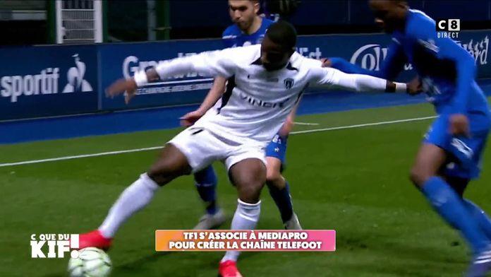 """TF1 s'associe à Mediapro pour créer la chaîne """"Téléfoot"""" : L'abonnement à 25 euros fait débat"""