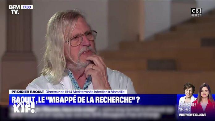 Quand le Professeur Raoult se compare à Kylian Mbappé