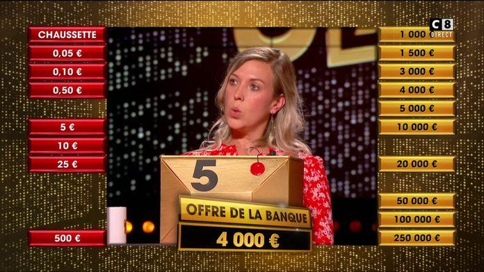 """""""La Pince"""" fait une première proposition de 4 000 euros à Audrey, quel choix va-t-elle faire ?"""
