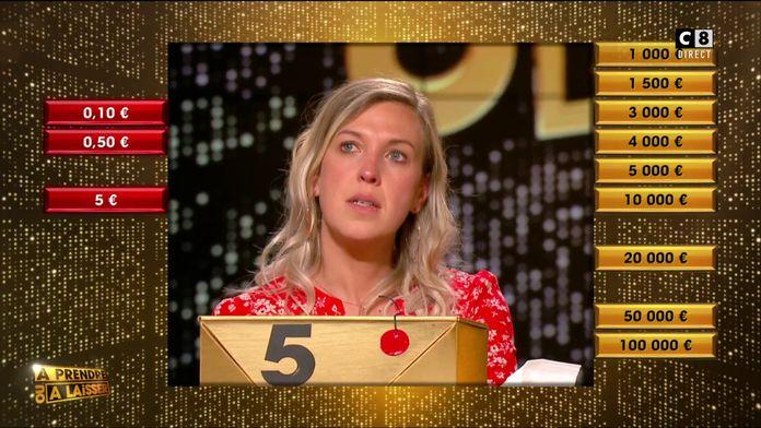 3 boîtes rouges, contre 9 boîtes dorées : Audrey se rapproche de plus en plus des 100 000 euros