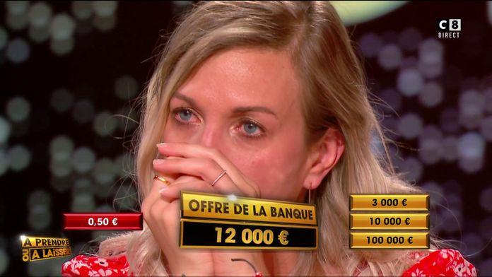 Le banquier propose 12 000 euros à Audrey, mais les 100 000 euros sont encore en jeu