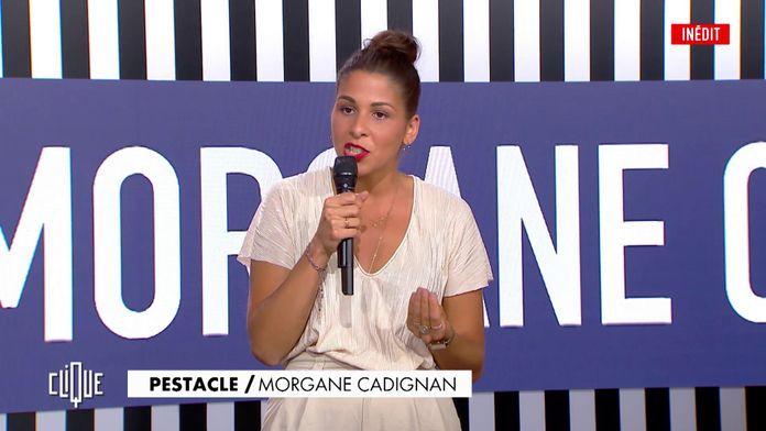 Morgane Cadignan trouve le Monde trop violent pour elle - Clique, 20h25 en clair sur CANAL+