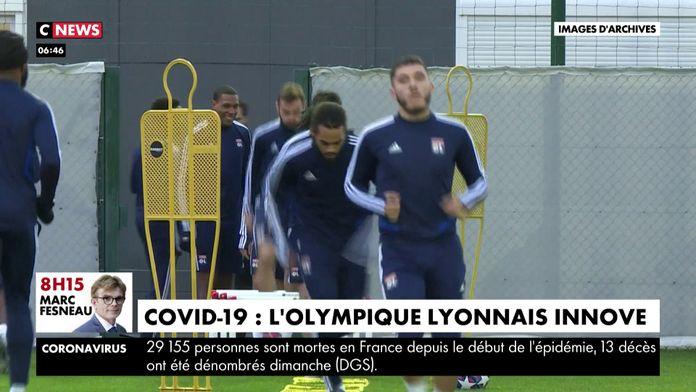 L'Olympique Lyonnais innove : Covid-19