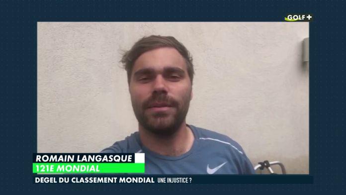 Dégel du classement mondial : Romain Langasque