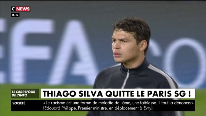 Thiago Silva quitte le Paris SG ! : Mercato
