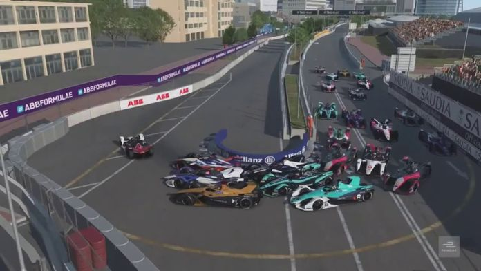 Course 4 - Hong Kong : ABB Formula E Race at Home Challenge
