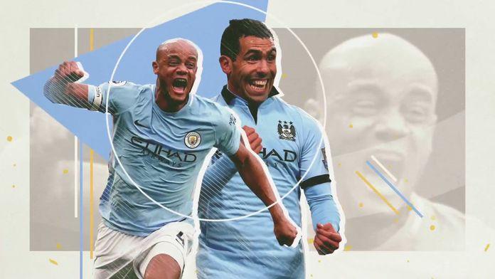 Les plus beaux buts de l'histoire de Manchester City : Premier League