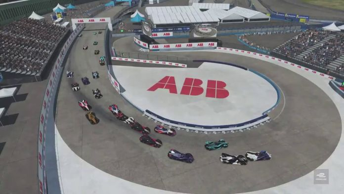 Course 5 - Berlin : ABB Formula E Race at Home Challenge