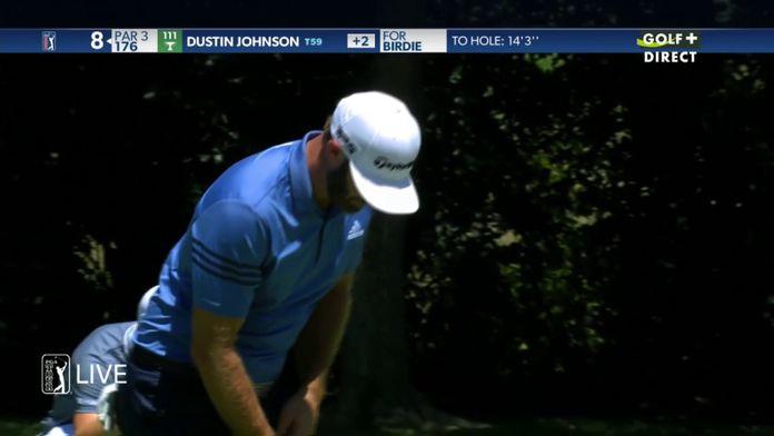 Dustin Johnson solide au putting - Charles Schwab Challenge : PGA Tour Charles Schwab Challenge