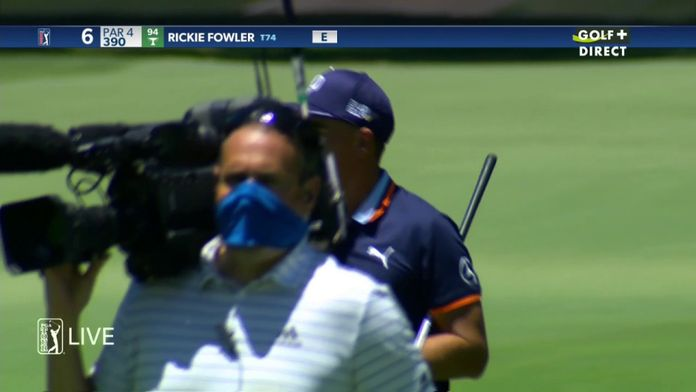 Ambiance Covid pour Rickie Fowler - Charles Schwab Challenge : PGA Tour Charles Schwab Challenge