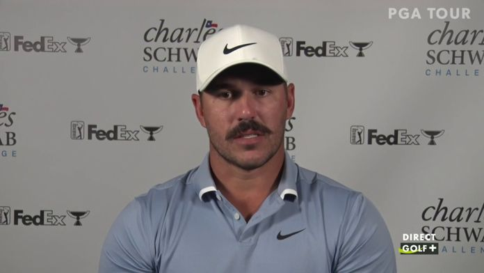 """Brooks Koepka """"chanceux"""" d'avoir échappé au Coronavirus : PGA Tour - Charles Schwab Challenge"""