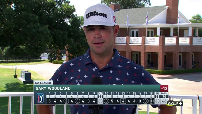 Un petit mot du leader provisoire Gary Woodland  - Charles Schwab Challenge : PGA Tour - Charles Schwab Challenge