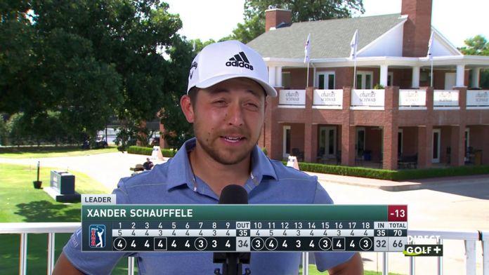 Xander Schauffele très en verve aujourd'hui - Charles Schwab Challenge : PGA Tour - Charles Schwab Challenge