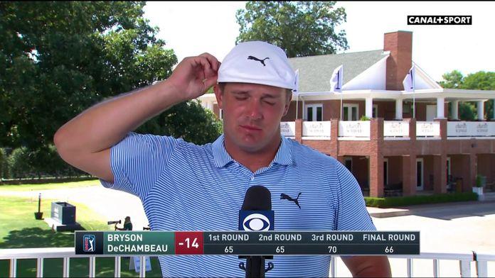 Bryson DeChambeau est ravi de sa façon de jouer cette semaine - Charles Schwab Challenge : PGA Tour Charles Schwab Challenge