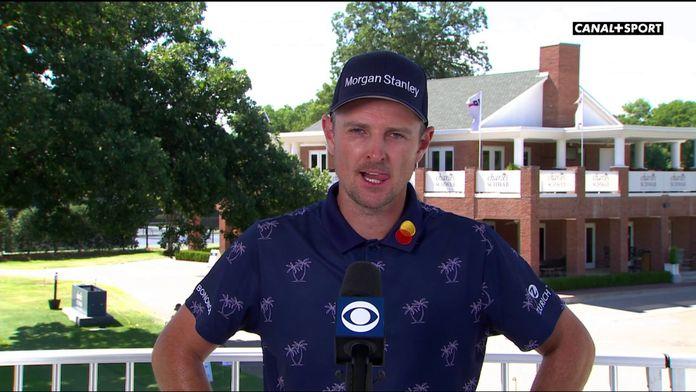 """Justin Rose : """"1 mètre avant je pensais qu'elle était dedans"""" - Charles Schwab Challenge : PGA Tour Charles Schwab Challenge"""