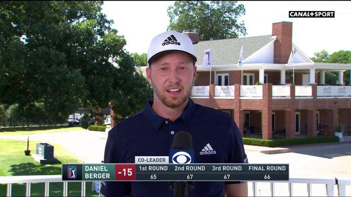 Daniel Berger ravi de revenir au golf - Charles Schwab Challenge : PGA Tour Charles Schwab Challenge