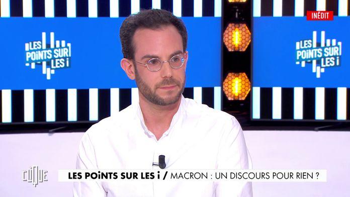 Macron, un discours pour rien ?