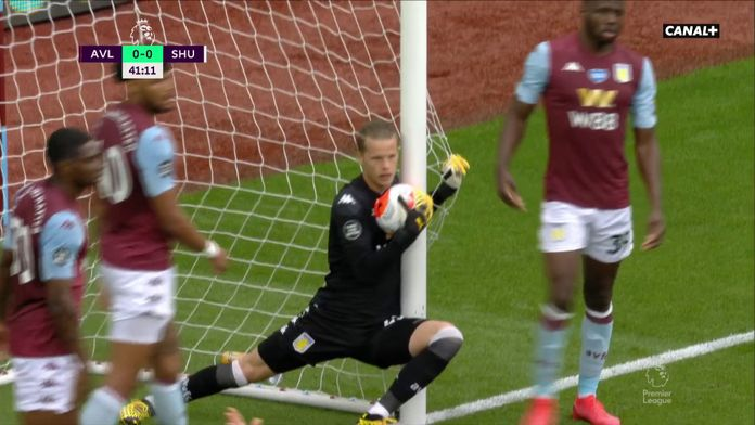 L'énorme erreur de la goal-line technology ! : Aston Villa / Sheffield United