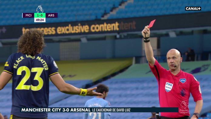 Le naufrage de David Luiz face à Manchester City : Manchester City / Arsenal
