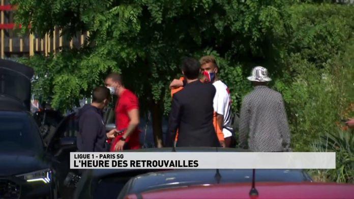 Paris-SG, l'heure des retrouvailles : Ligue 1