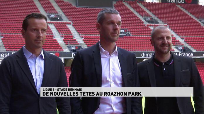 De nouvelles têtes au Roazhon Park - Stade rennais : Ligue 1 reprise