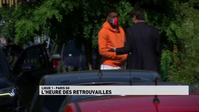 L'heure des retrouvailles au PSG : Ligue 1 reprise