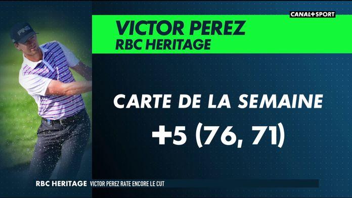 RBC Heritage - Victor Perez rate encore le cut : Golf+ Le Mag