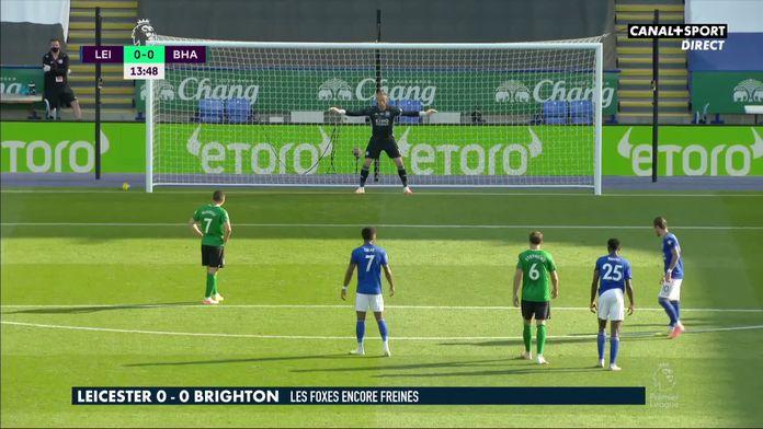Le résumé de Leicester - Brighton : les Foxes encore freinés : Premier League