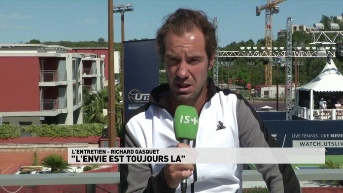 """L'entretien avec Richard Gasquet : """"l'envie est toujours la"""" : Tennis"""