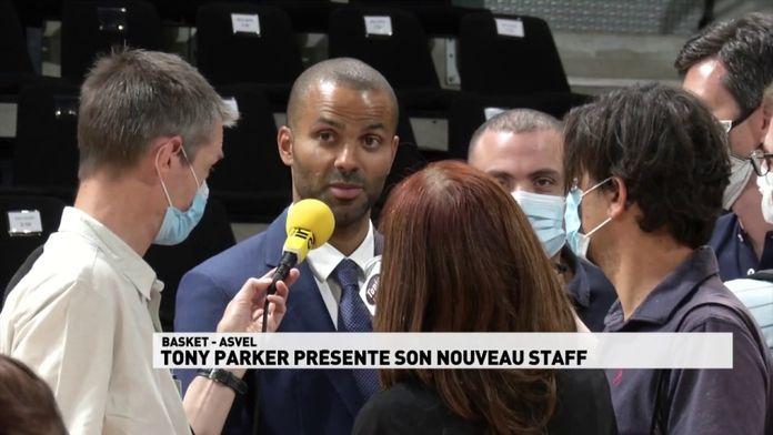 Tony Parker présente son nouveau staff pour la prochaine saison : ASVEL
