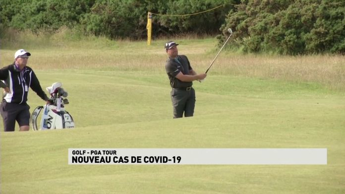 Nouveau cas de COVID-19 : PGA Tour